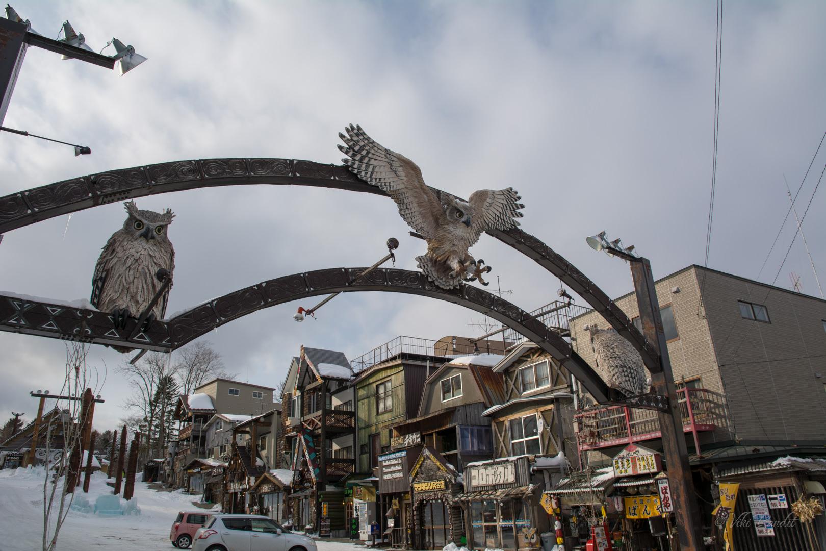 Ainu Village Gate