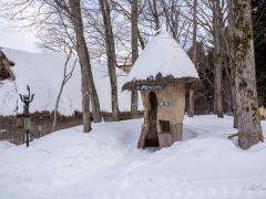 Ainu Huts at Lake Akan
