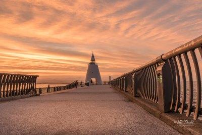 West Lighthouse, Aomori Bay