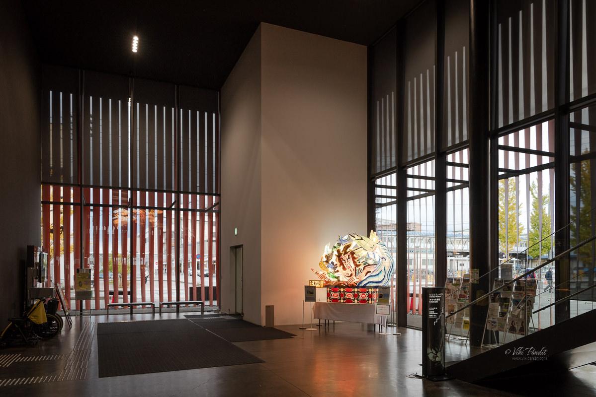 Nebuta WaRasse Museum Lounge