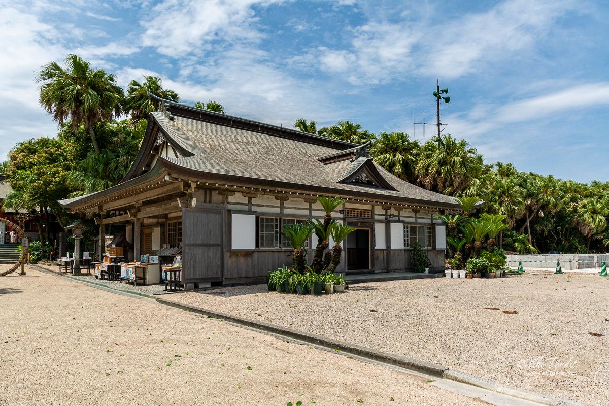 Aoshima Shrine Hall