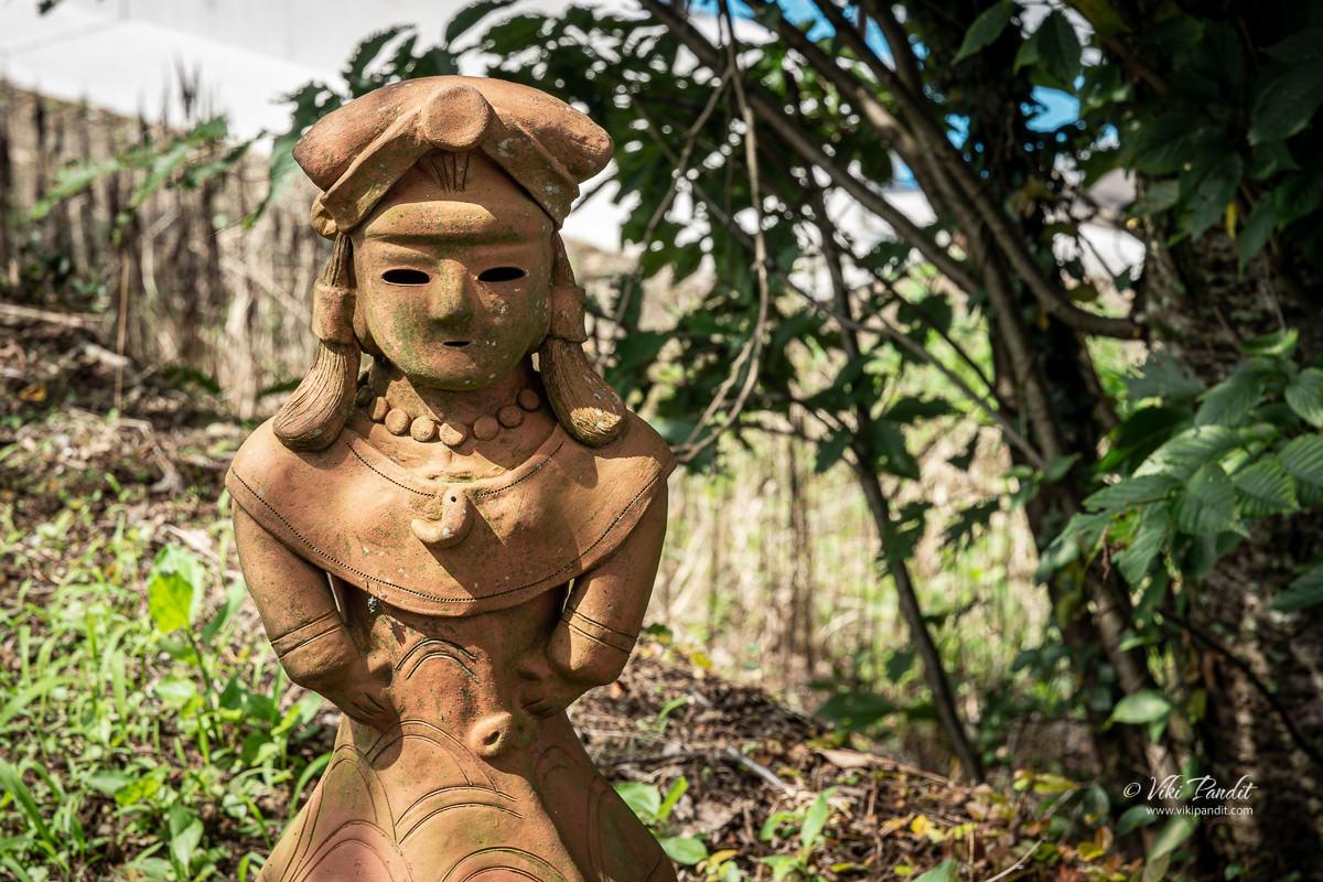 Haniwa Clay figures