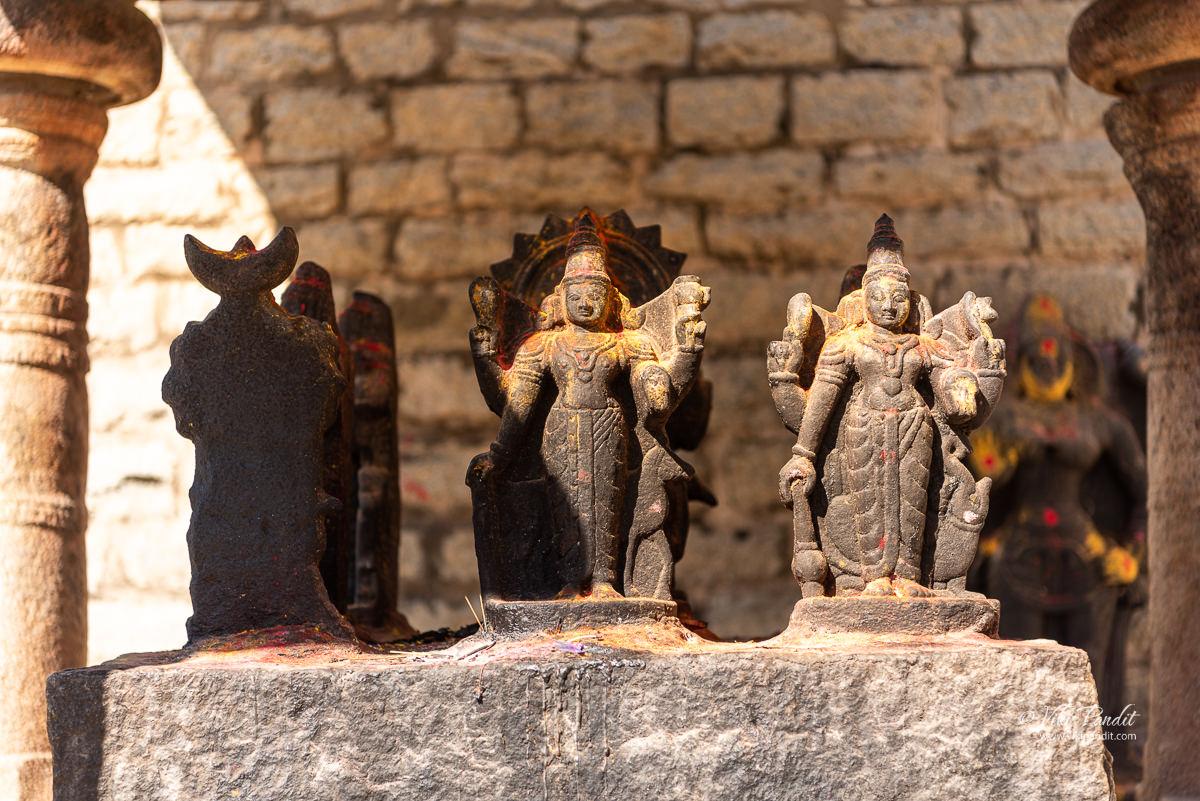 The Navagraha as idols