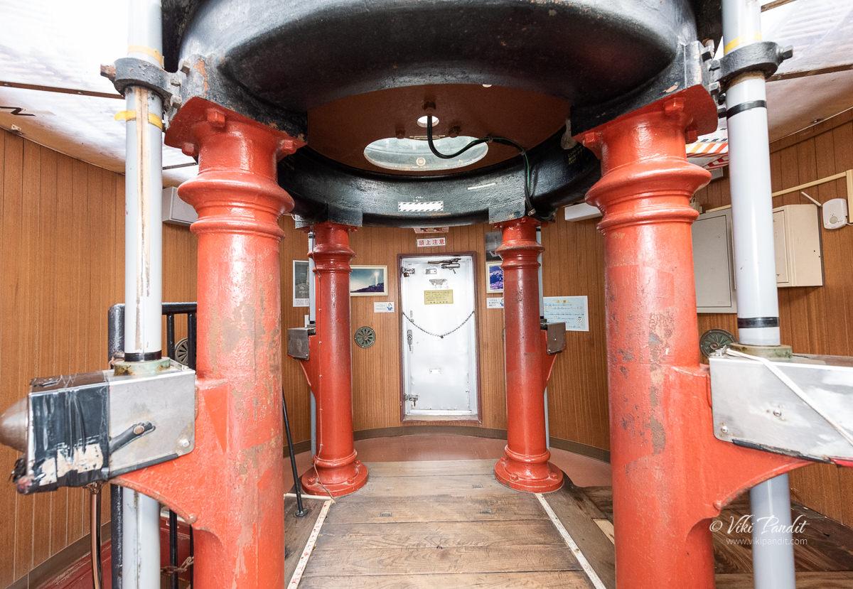 Hinomisaki Lighthouse Lens Room