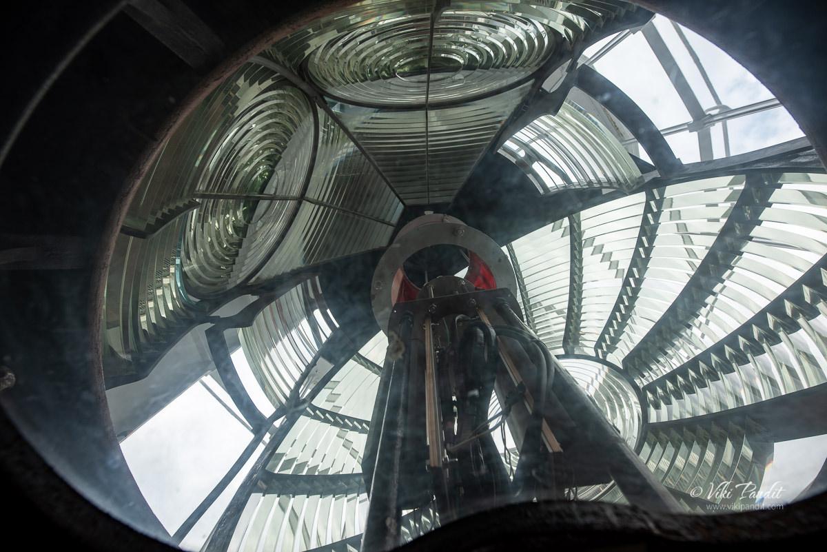 Hinomisaki Lighthouse Lens