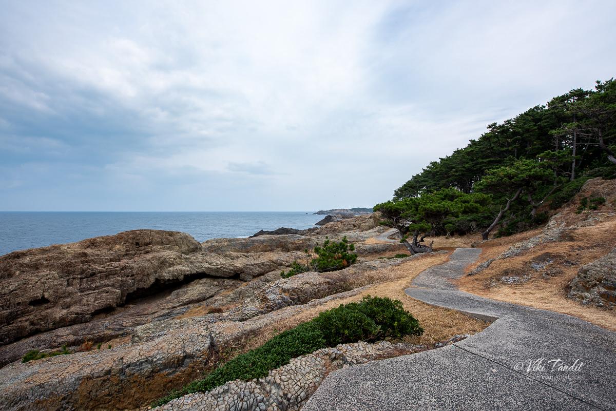 Path along Cape Hino