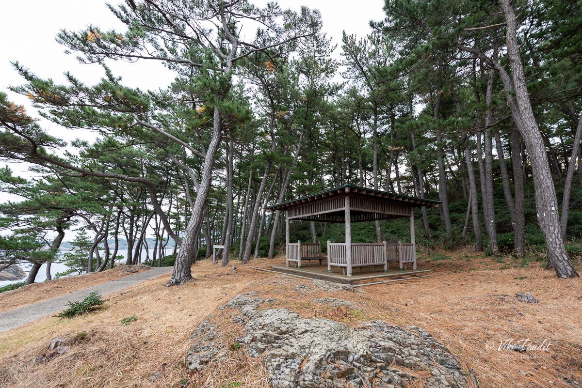 Rest stop along path to Izumo Matsushima