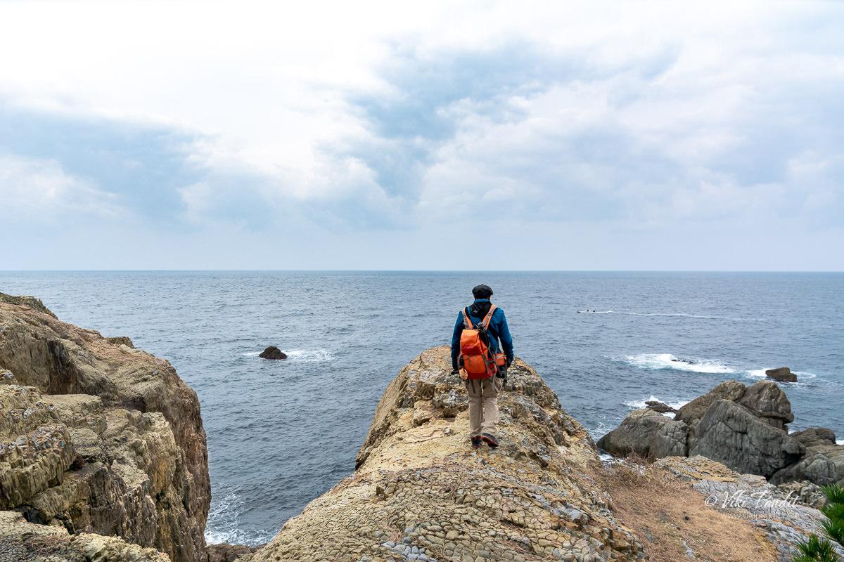 Viki at Cape Hino