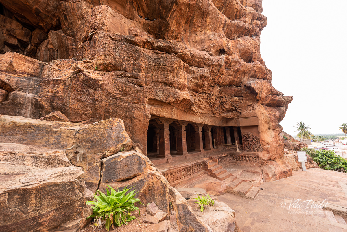 The exteriors of Cave Temple 1