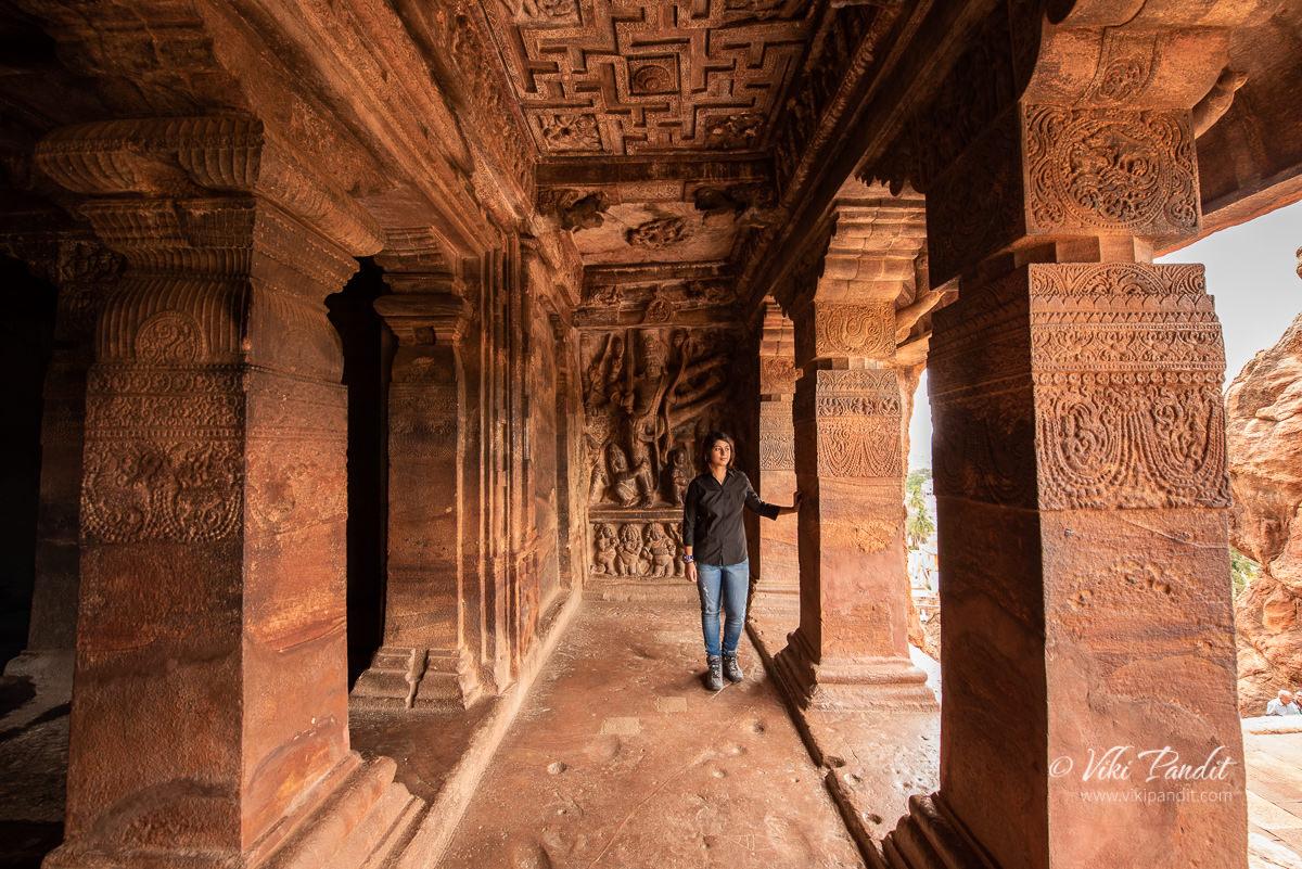 Mani exploring Cave Temple 2
