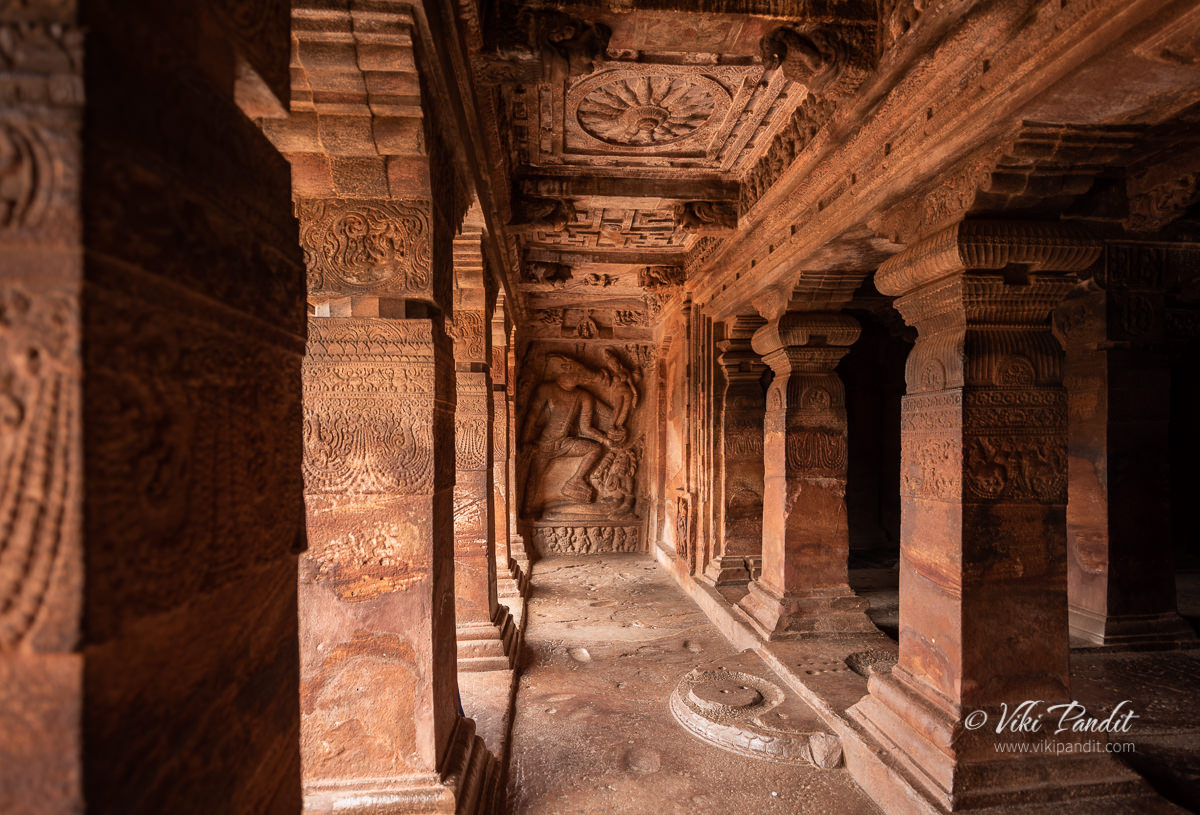 An image of Varaha inside Cave Temple 2