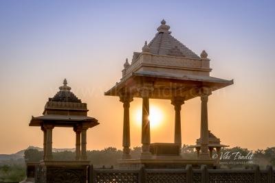 Square Pavilions at Chattardi Bhuj
