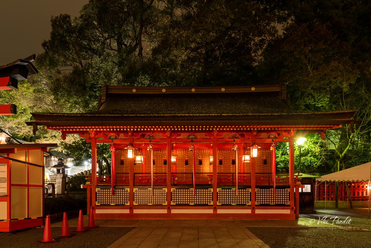 Fushimiinari Shrine Gonden