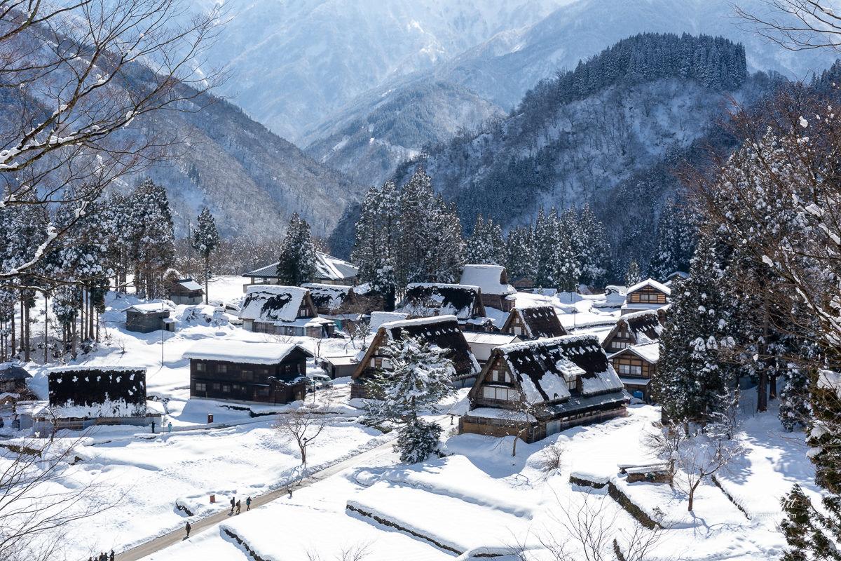 Ainokura Village view from Observatory
