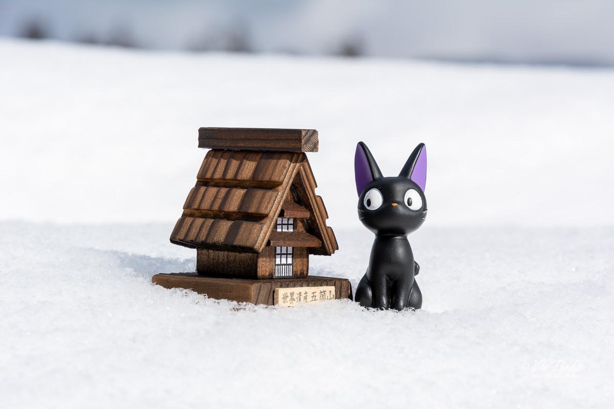 A gasshō-zukuri miniature replica