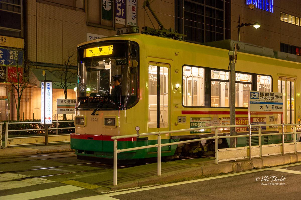 Streetcar in Toyama