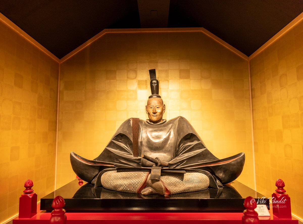 Life-sized figure of Oda Nobunaga