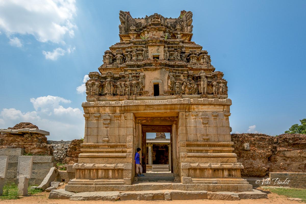 Chandrashekhara Temple at Hampi
