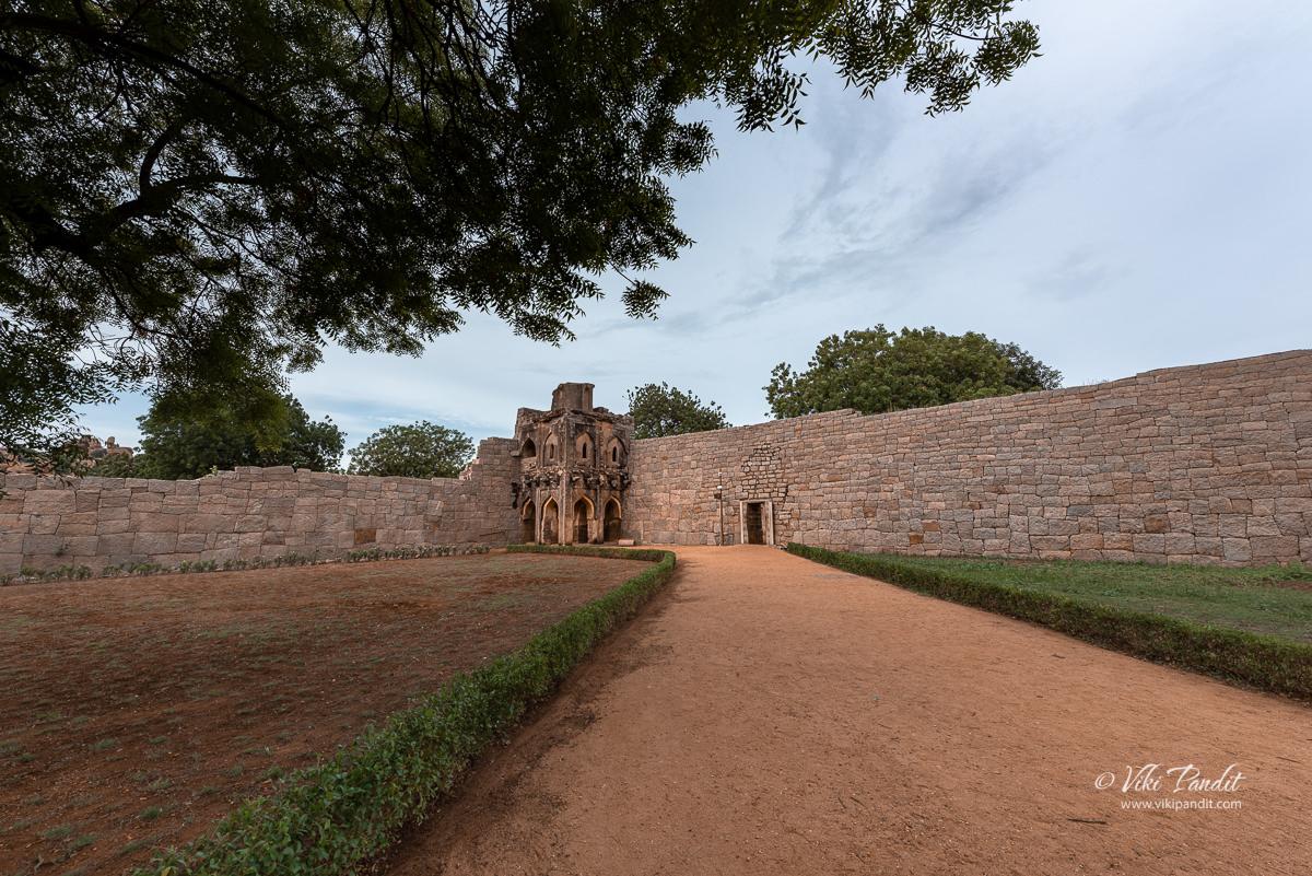 Watch Tower in Zenana Enclosure at Hampi
