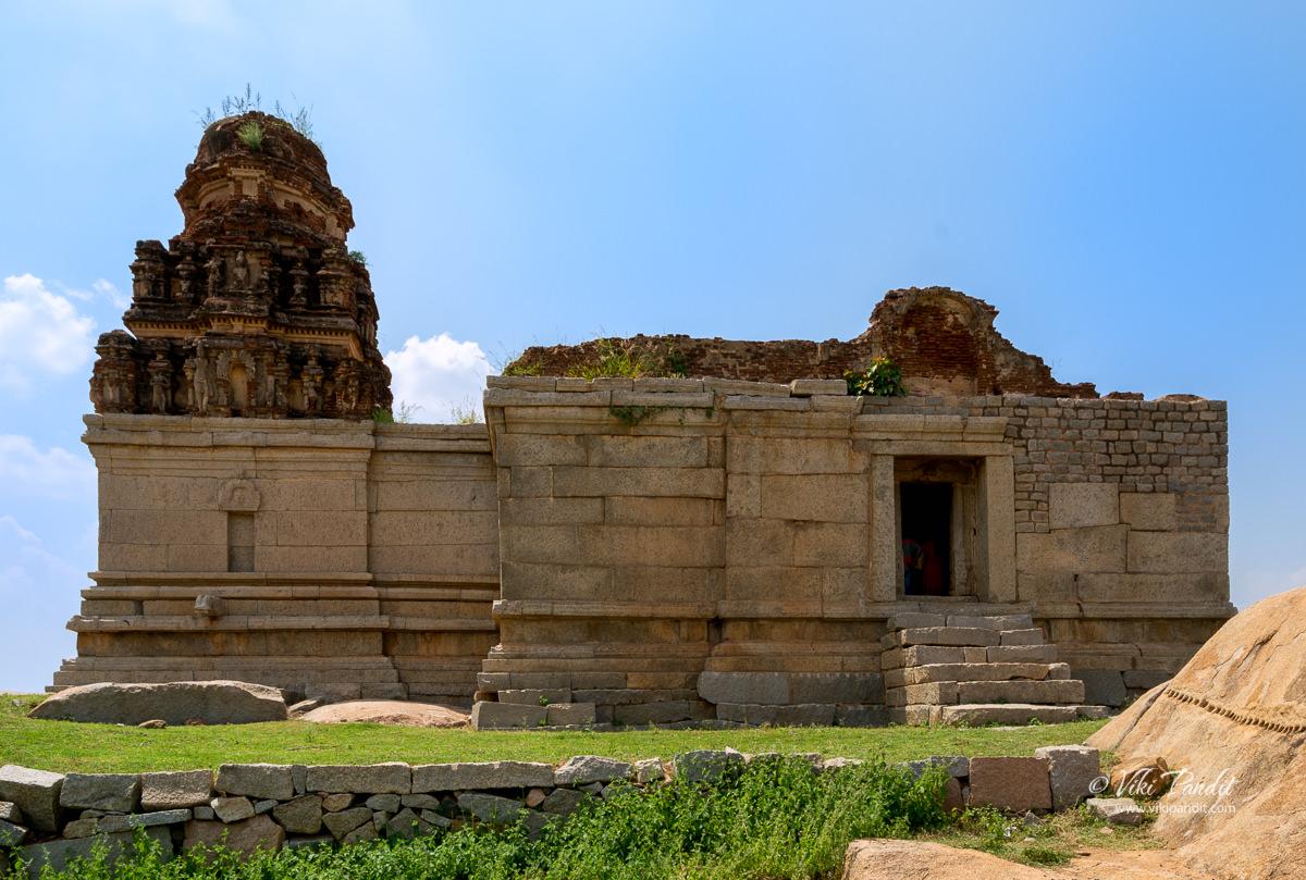 Saraswati Temple in Hampi