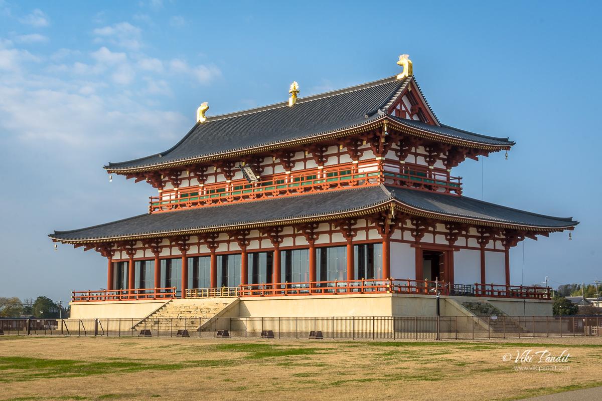 Daigokuden Hall at Heijo Palace Grounds