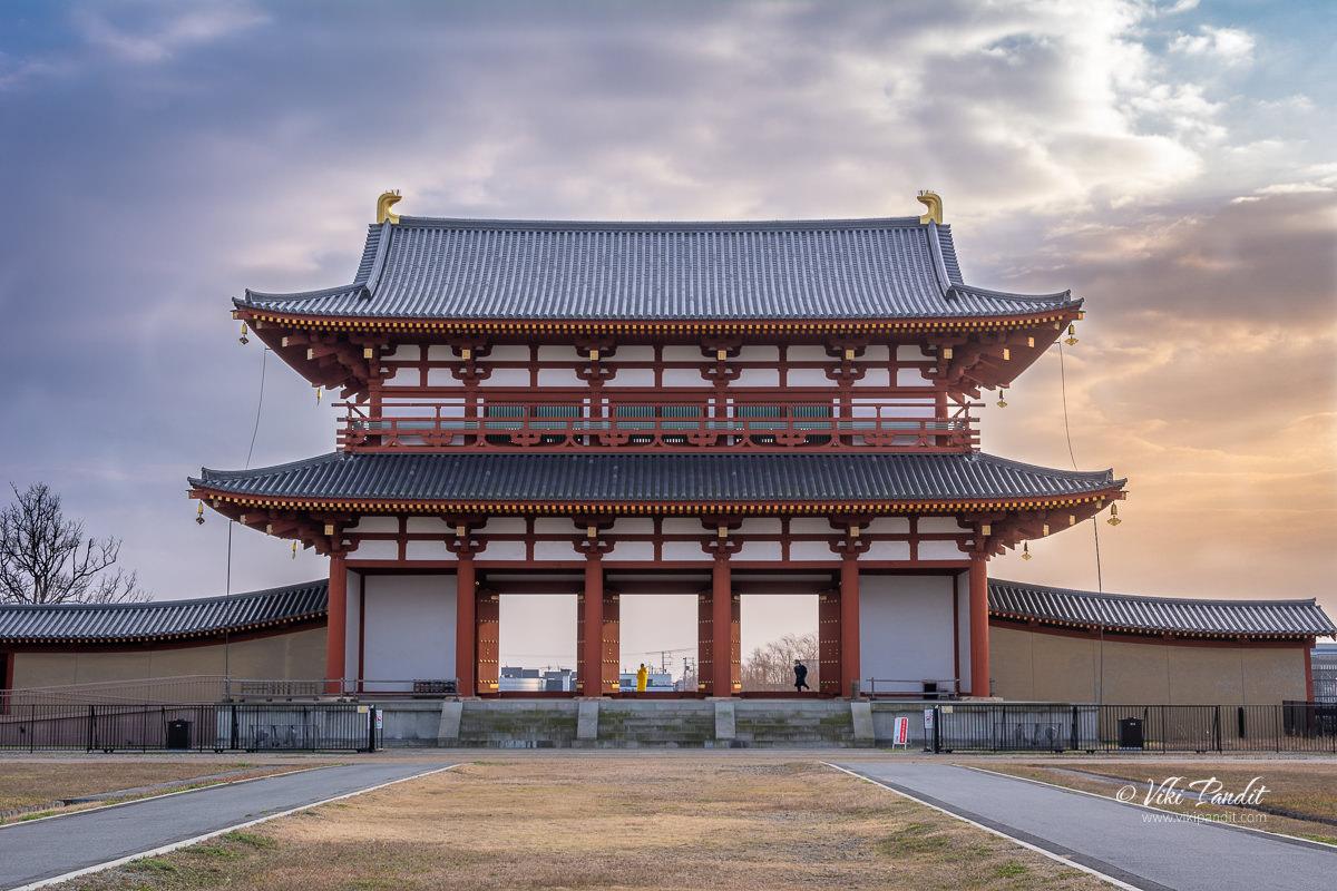 Suzakumon Gate of Heijo Palace