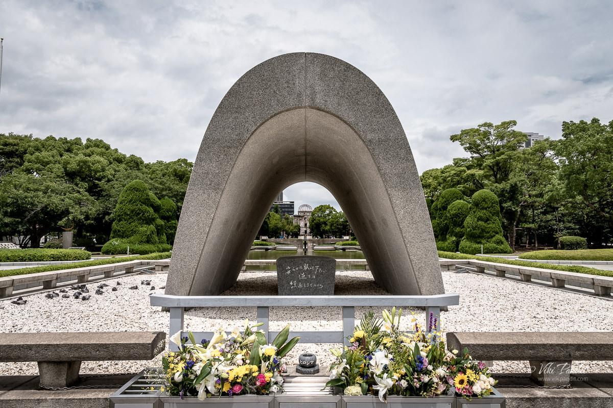 Hiroshima Victims Memorial Cenotaph