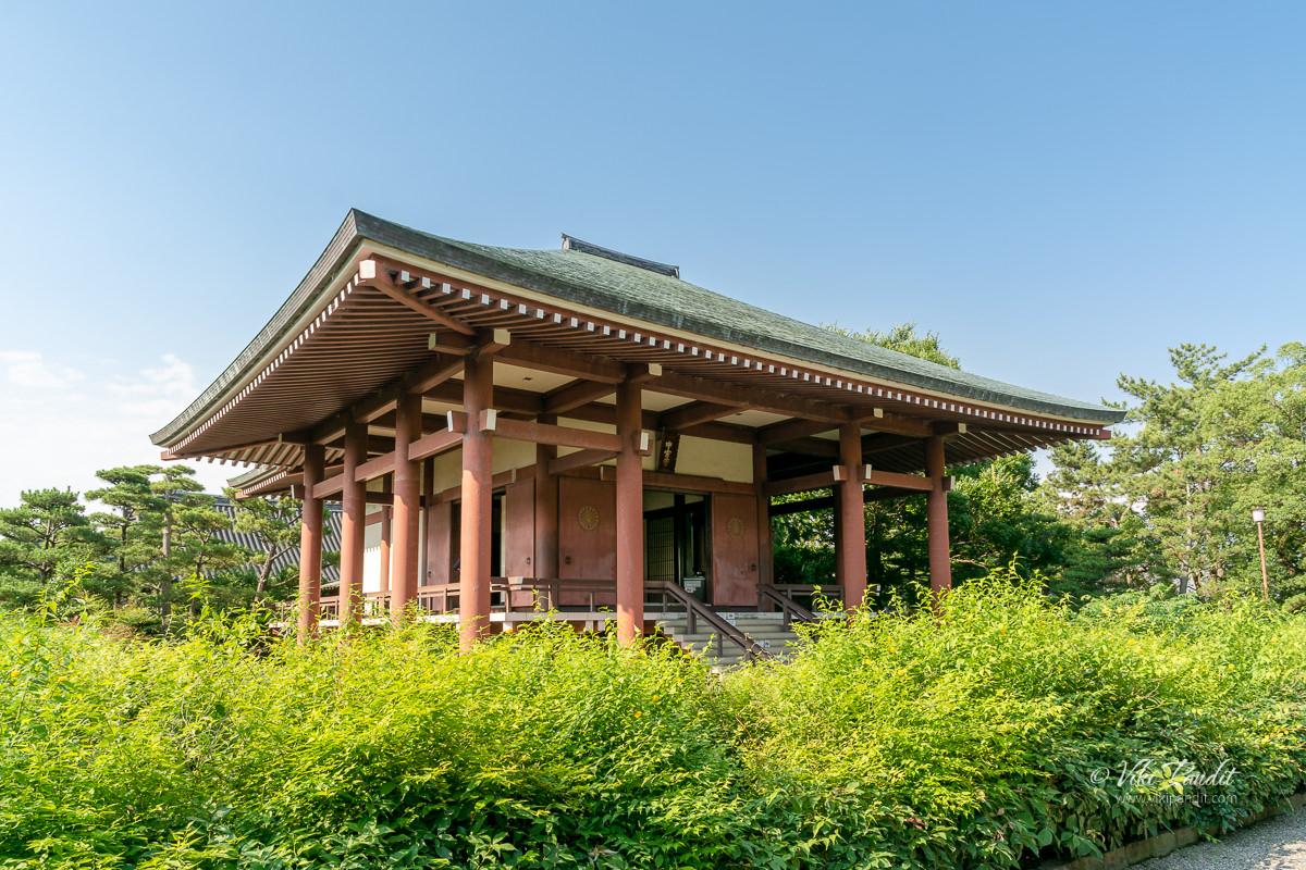Chūgū-ji at Horyuji Temple Grounds