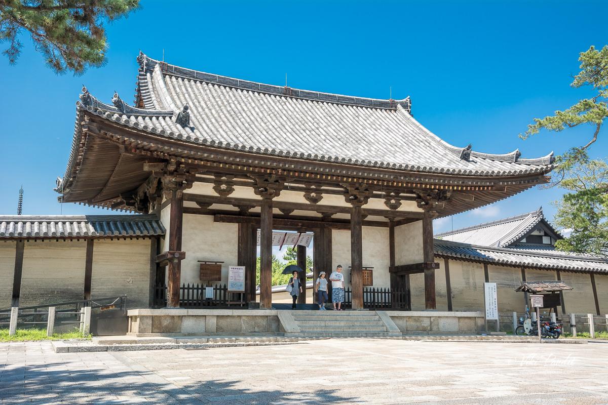Hōryū-ji South Gate