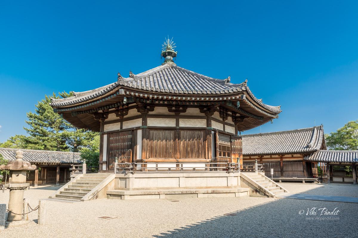 Yumedono at Hōryū-ji Temple Grounds