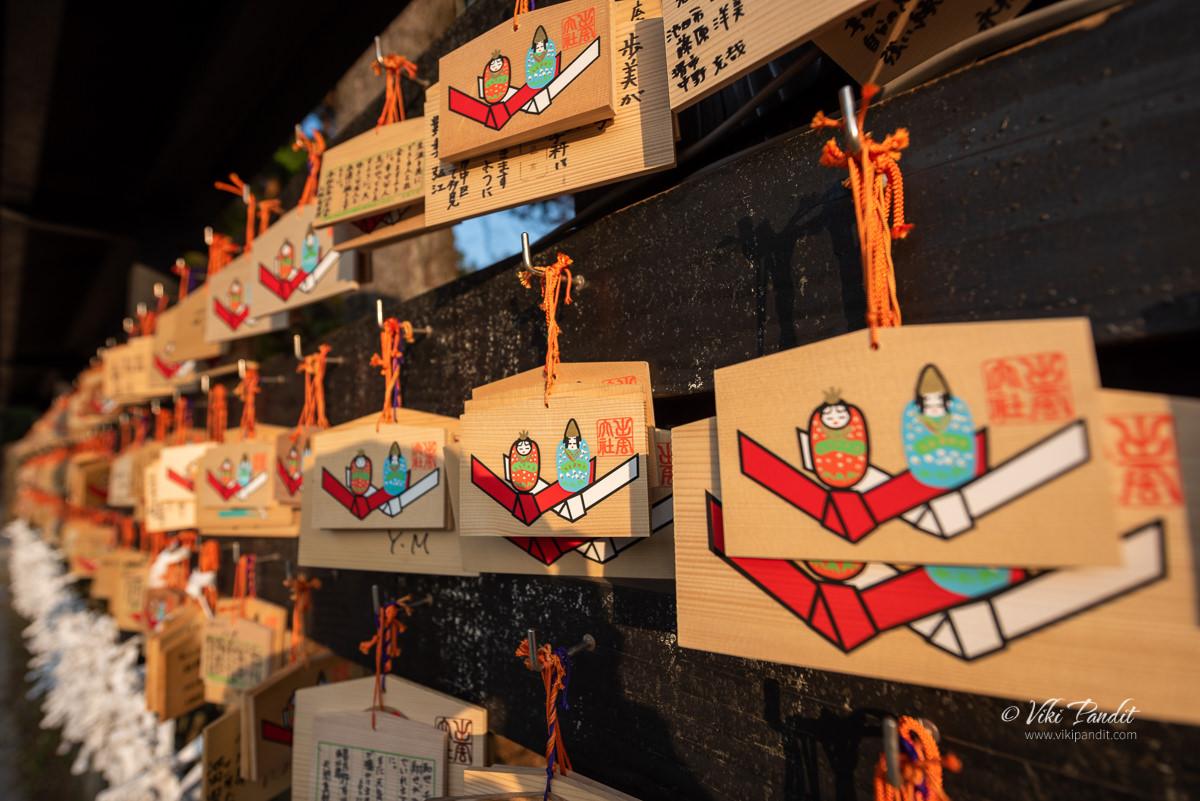 Ema Planks at Izumo Taisha