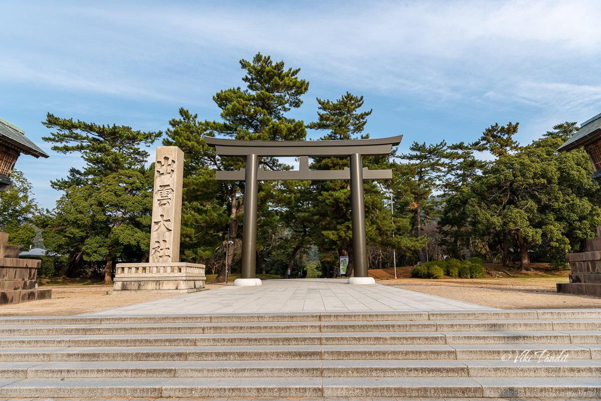 Torii of Izumo Taisha