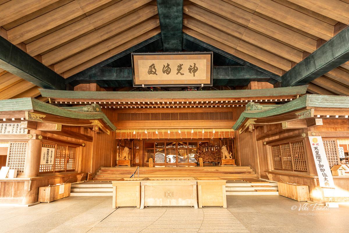 Kagura-den at Izumo Taisha