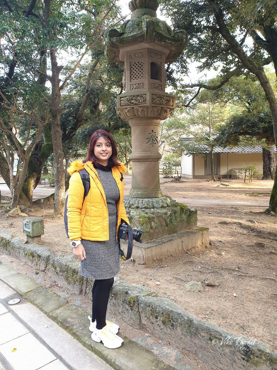 Ranita at Izumo Taisha