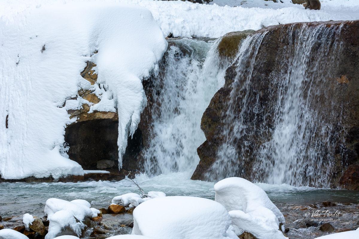 Flowing Yokoyu river