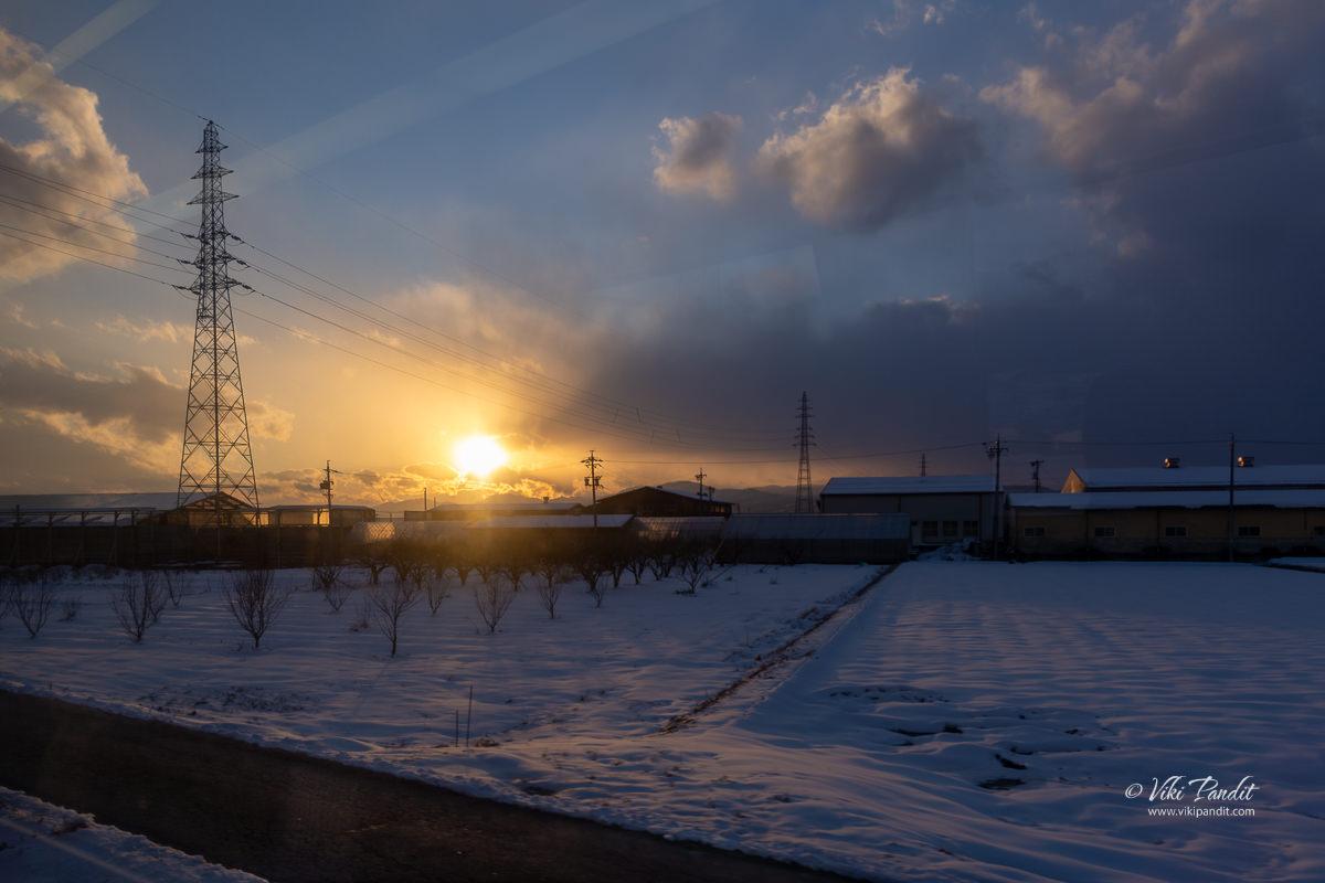 Train ride to Nagano