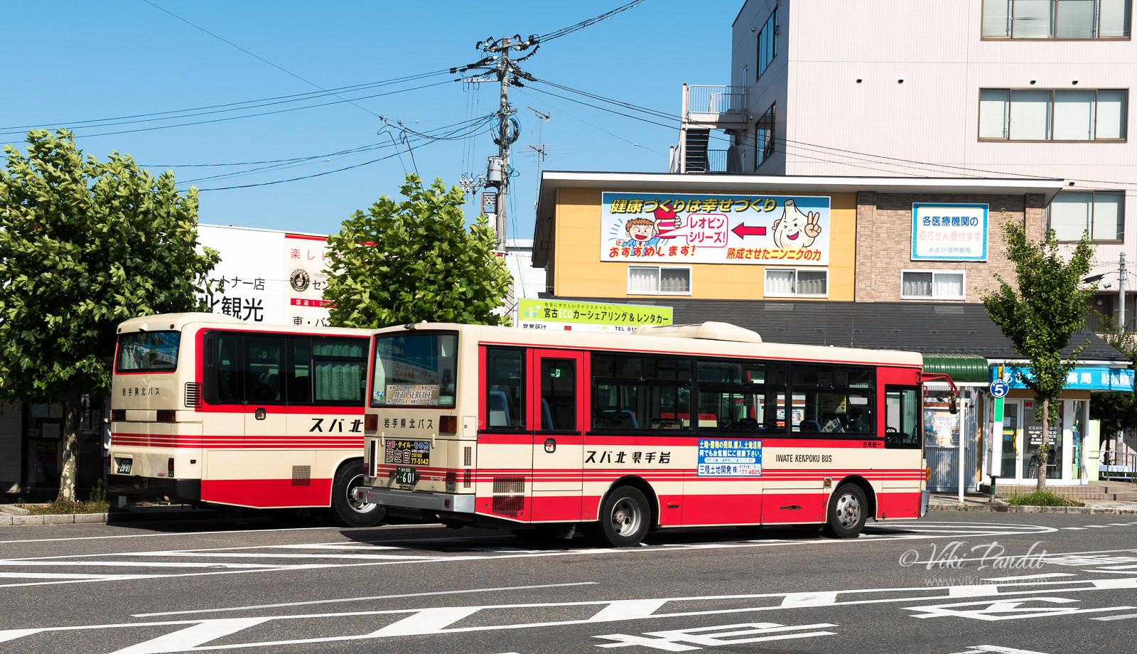 Iwate-Kenpoku Bus
