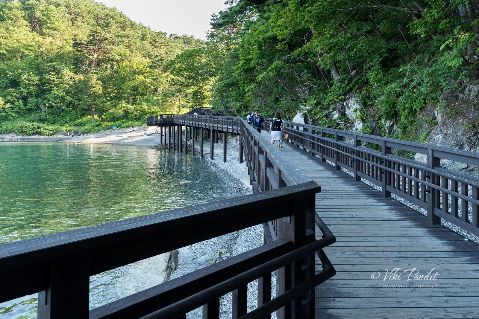 Miyako Jodogahama Boat Cruise pier