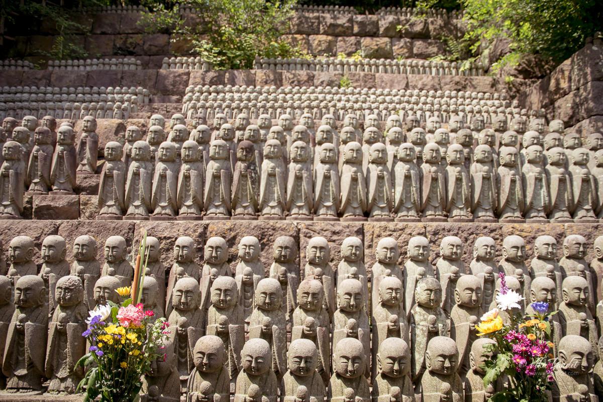 Temple of a 1001 Jizo