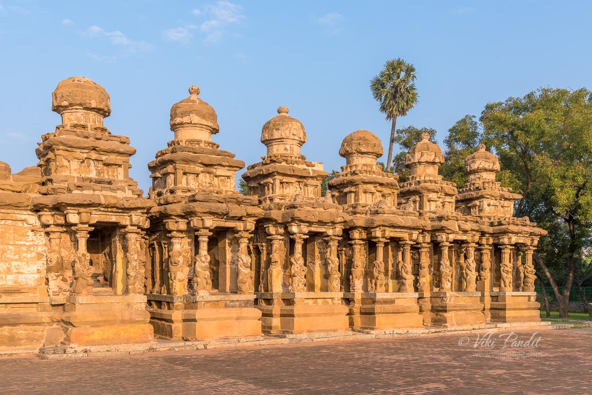 Front of Kanchi Kailasanathar Temple
