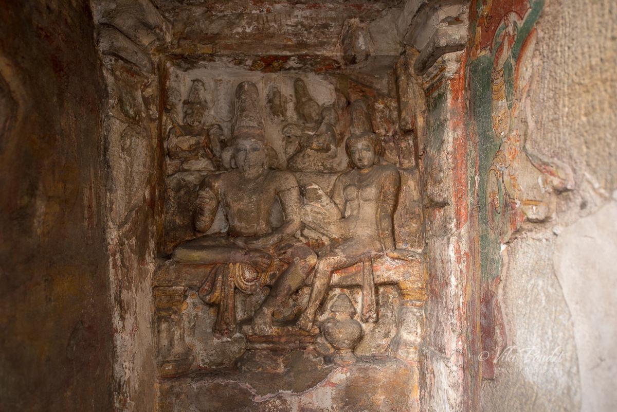 Shive at Kanchi Kailasanathar Temple
