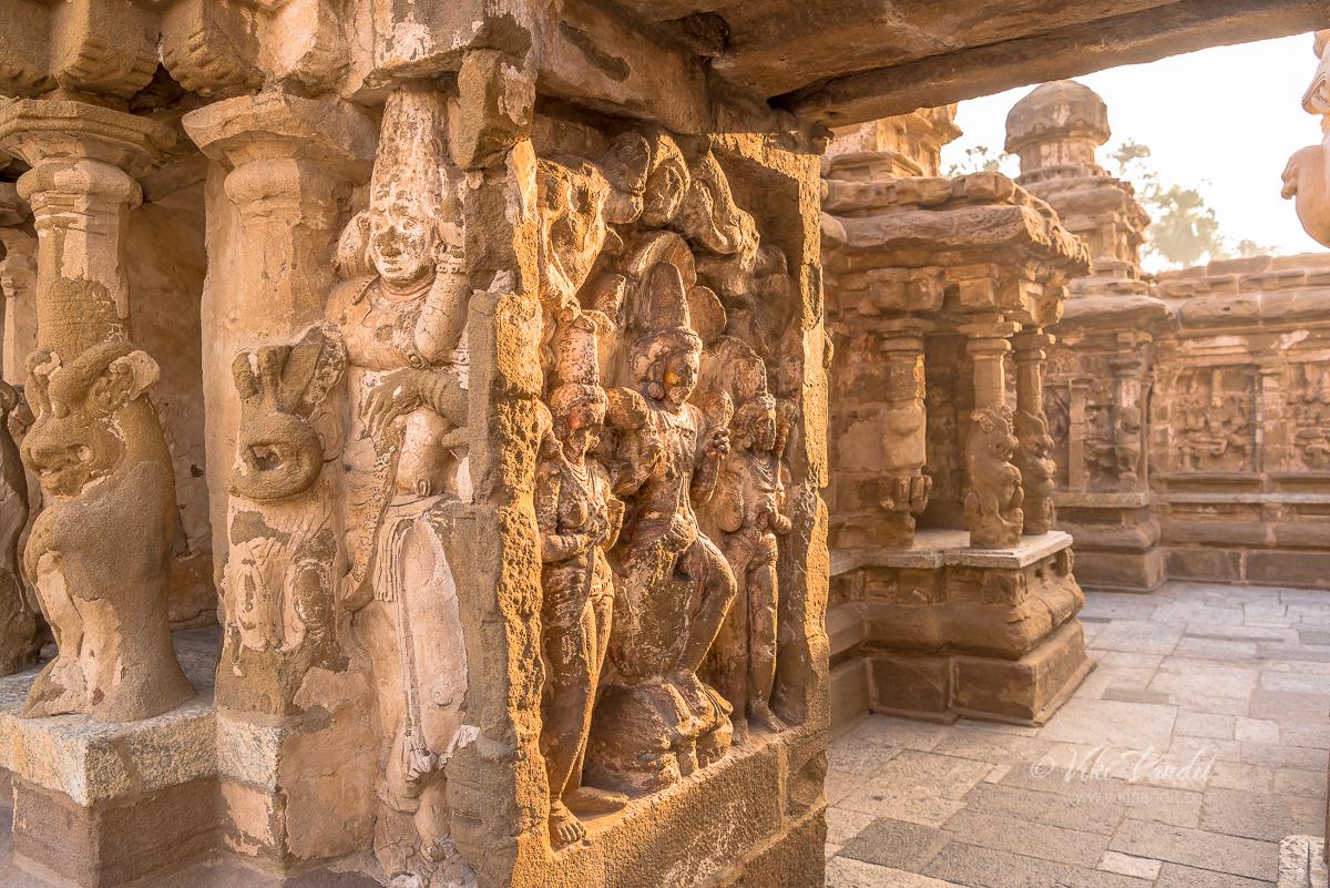 Sandhaprastha at Kanchi Kailasanathar Temple