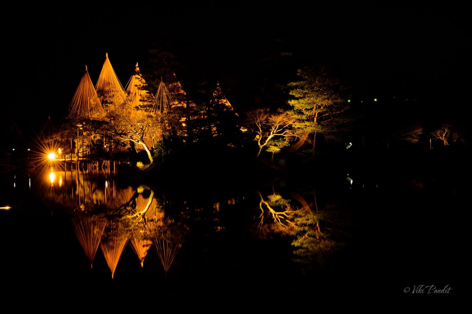 Kasumiga-ike Pond, Kenrokuen