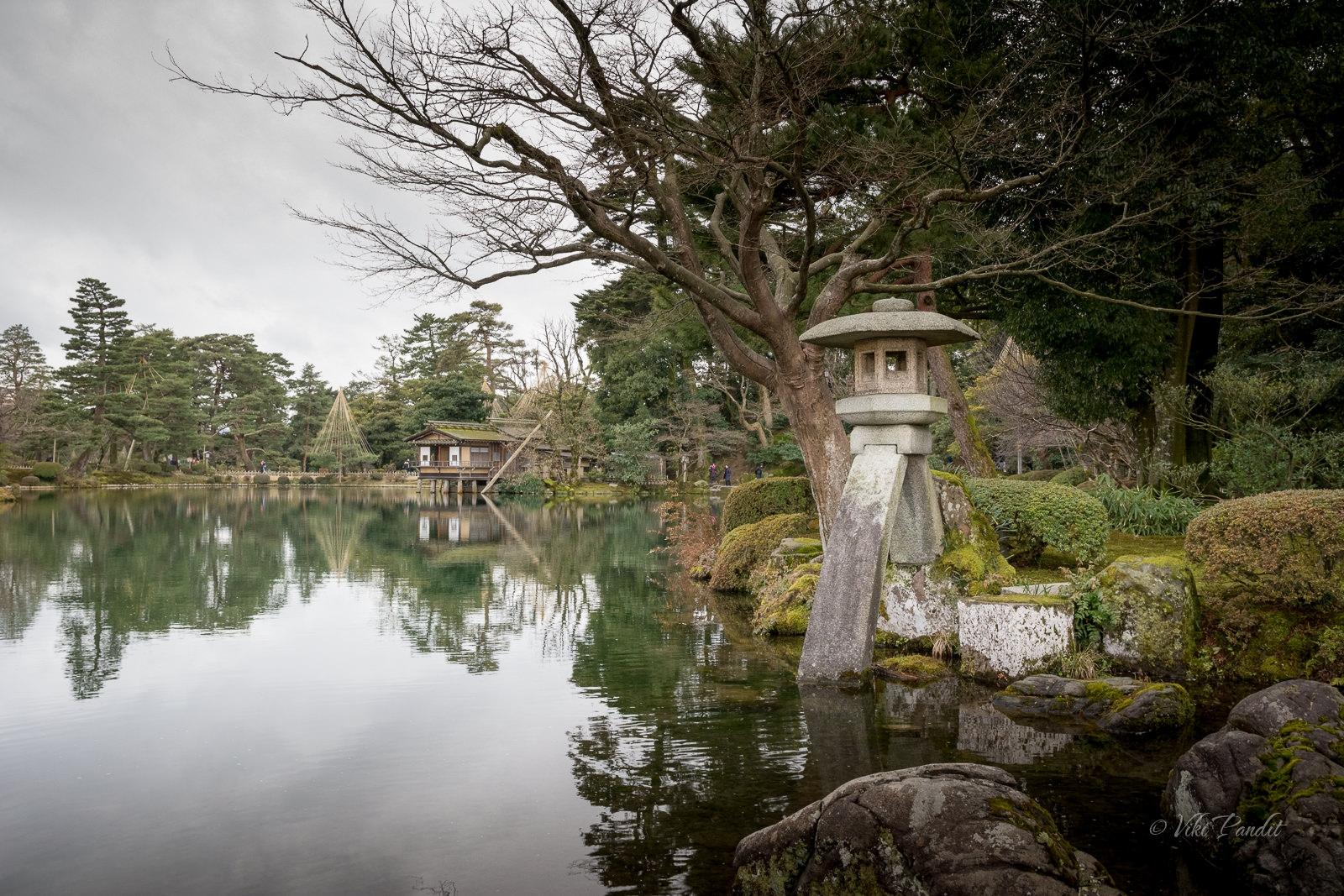 Kotoji-toro Lantern, Kenrokuen