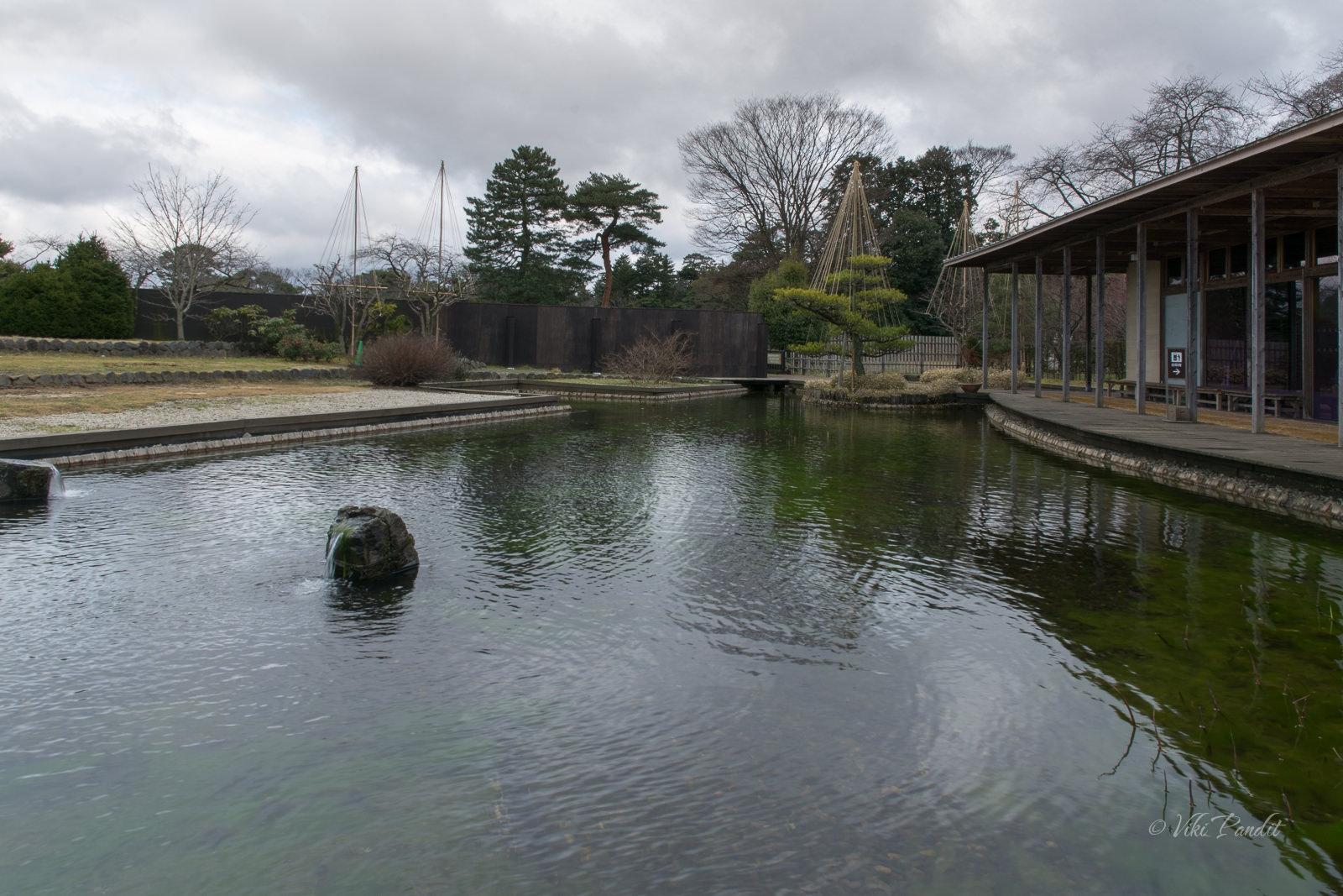 Pond near Kanazawa Castle