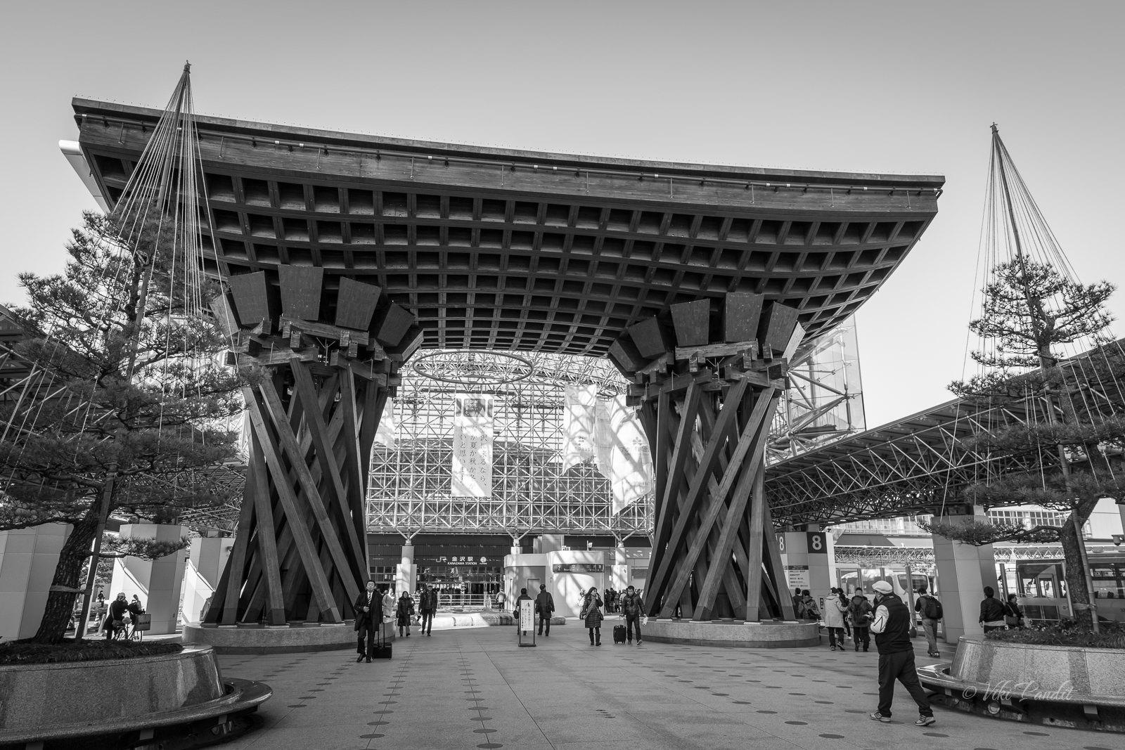 Tsuzumi-Mon Gate, Kanazawa
