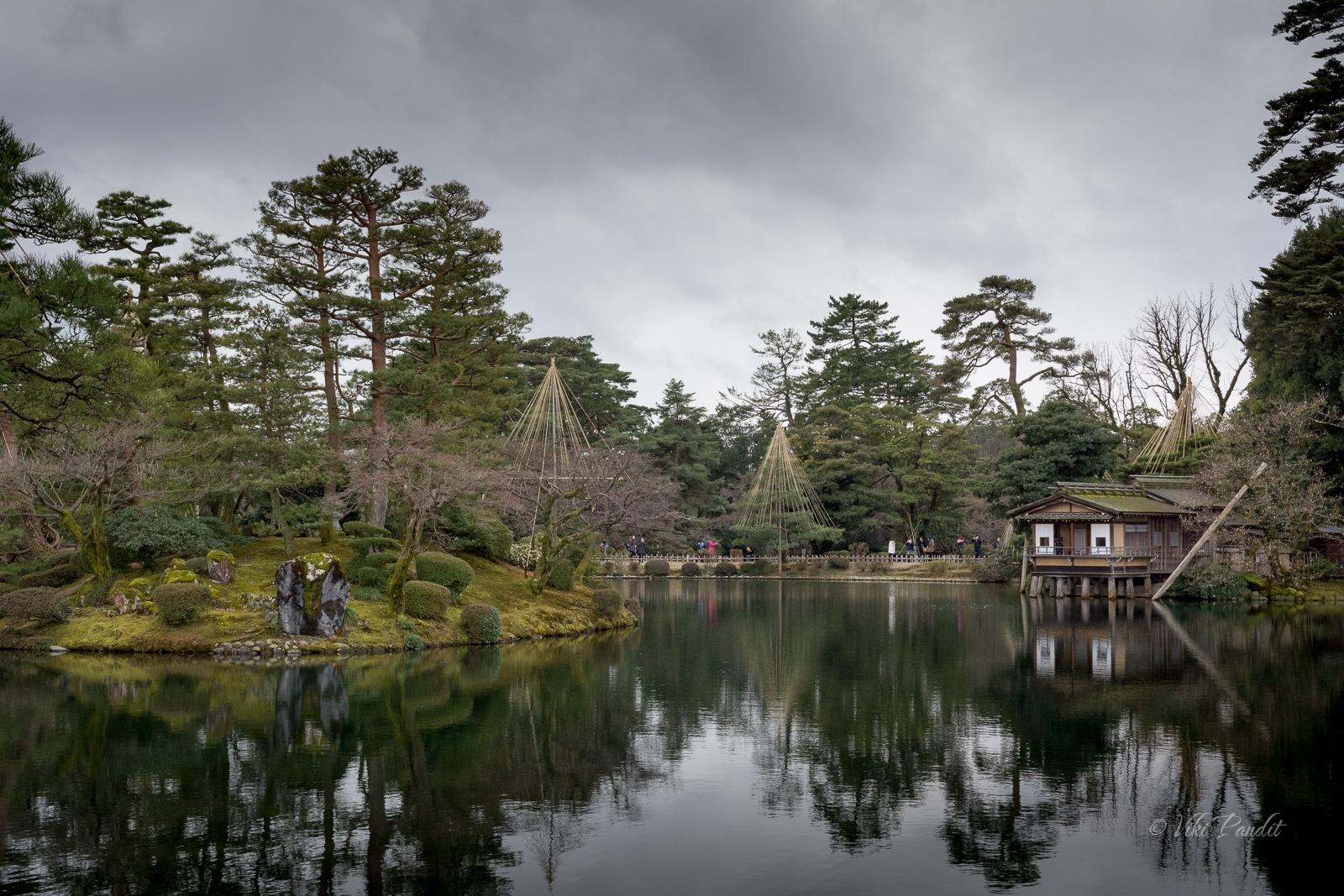Uchihashi-tei Tea House, Kenrokuen Garden
