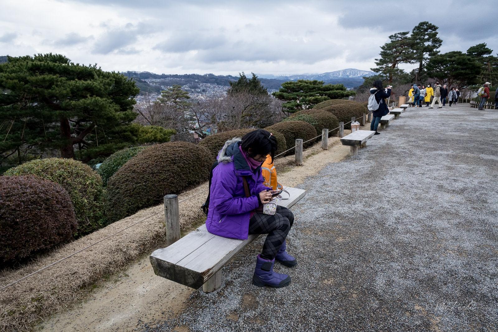 View of Kanazawa City