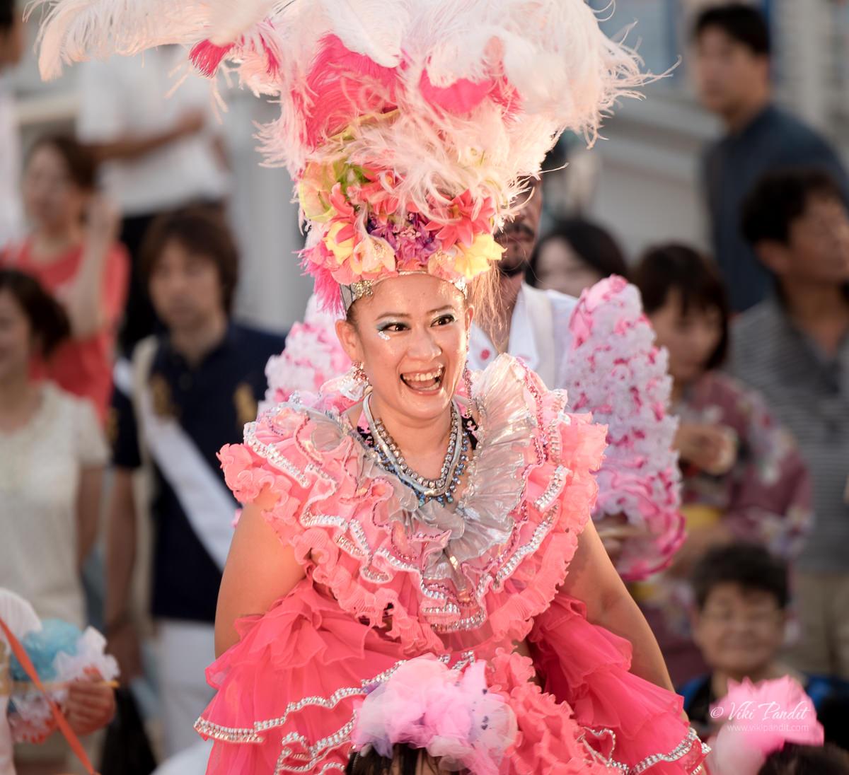Japanese Samba Dancer