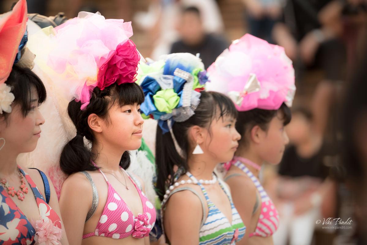 Japanese Samba Dancers